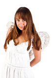 Angel woman Stock Images