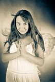 Angel woman Royalty Free Stock Photo