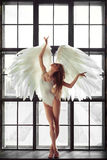 Angel woman Stock Image