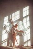 Angel woman Stock Image