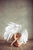 Angel woman Royalty Free Stock Image