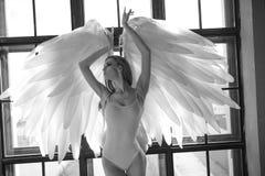 Angel woman Stock Photos