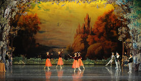 Angel in the world-ballet Swan Lake. In December 20, 2014, Russia's St Petersburg Ballet Theater in Jiangxi Nanchang performing ballet Swan Lake Stock Photo
