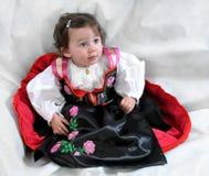 Angela, das Mädchen im Trachtenkleid lizenzfreies stockfoto