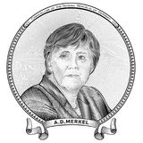 Angela Dorothea Merkel Obraz Royalty Free