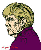 Angela Dorothea Merkel Chancellor of Germany, Leader of the Christian Democratic Union CDU Stock Photos