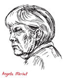 Angela Dorothea Merkel Chancellor of Germany, Leader of the Christian Democratic Union CDU Royalty Free Stock Image
