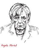Angela Dorothea Merkel kanclerz Niemcy, lider Chrześcijański Demokratyczny zjednoczenie CDU Obraz Stock