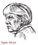 Angela Dorothea Merkel kanclerz Niemcy, lider Chrześcijański Demokratyczny zjednoczenie CDU Obraz Royalty Free