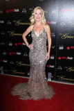 Angela Kinsey at the 2012 Gracie Awards Gala, Beverly Hilton Hotel, Beverly Hills, CA 05-22-12 Stock Photography