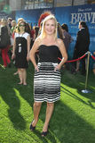 Angela Kinsey arrives at the Stock Images