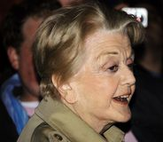 Angela Lansbury - theater, TV en filmster royalty-vrije stock foto