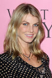 Angela Lindvall arrives at the Victoria's Secret What Is Sexy? Party Stock Photos
