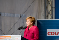 Angela Merkel Image stock