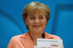 Angela Merkel Foto de Stock