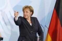 Angela Merkel Stockbild