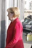 Angela Merkel Royaltyfri Foto