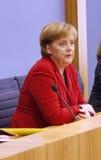 Angela Merkel Royaltyfri Fotografi