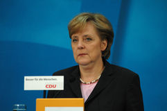 Angela Merkel photos stock