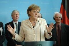 Angela Merkel Immagini Stock Libere da Diritti