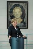 Angela merkel Στοκ εικόνα με δικαίωμα ελεύθερης χρήσης