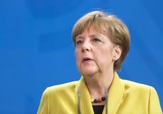 Angela Merkel Immagine Stock Libera da Diritti