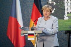 Angela Merkel Fotos de archivo