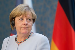 Angela Merkel Imagem de Stock