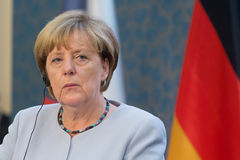 Angela Merkel Fotografía de archivo libre de regalías
