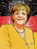 Angela Merkel Royalty Free Stock Images