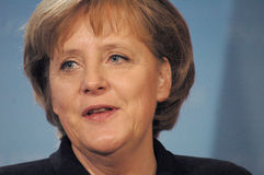 Angela Merkel Royalty Free Stock Image