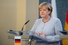 Angela Merkel Stock Photography
