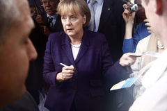 Angela Merkel Royalty Free Stock Photography