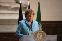 Angela Merkel. Royalty Free Stock Photography