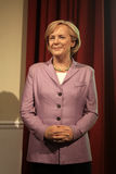 Angela Merkel. Wax statue at Madame Tussauds in London royalty free stock photo