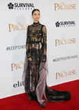 Angela Sarafyan. At the Los Angeles premiere of `The Promise` held at the TCL Chinese Theatre in Hollywood, USA on April 12, 2017 Royalty Free Stock Photos