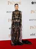Angela Sarafyan. At the Los Angeles premiere of `The Promise` held at the TCL Chinese Theatre in Hollywood, USA on April 12, 2017 Royalty Free Stock Photography