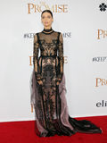 Angela Sarafyan. At the Los Angeles premiere of `The Promise` held at the TCL Chinese Theatre in Hollywood, USA on April 12, 2017 Royalty Free Stock Image
