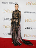 Angela Sarafyan. At the Los Angeles premiere of `The Promise` held at the TCL Chinese Theatre in Hollywood, USA on April 12, 2017 Stock Image
