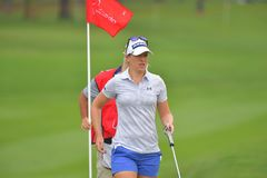Angela Stanford in Honda LPGA Thailand 2018. CHONBURI - FEBRUARY 24 : Angela Stanford of USA in Honda LPGA Thailand 2018 at Siam Country Club, Old Course on Stock Photography