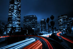 Angeles κάτω από την πόλη Los Στοκ Εικόνες