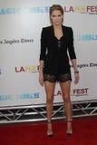 Angeles που κλείνει τη cody πρεμιέρα νύχτας κέρατων Los gala ταινιών φεστιβάλ Στοκ Εικόνα
