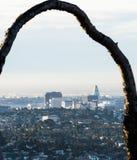 Angeles στο κέντρο της πόλης Los Στοκ εικόνα με δικαίωμα ελεύθερης χρήσης