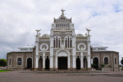 Angeles basilica costa de los rica Στοκ Φωτογραφία