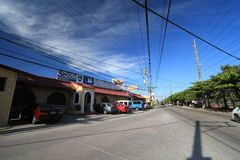 Angeles City street view Royalty Free Stock Images