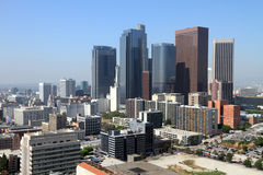 angeles cityscape los Royaltyfri Bild