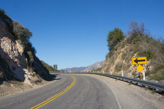 Angeles Crest Highway Στοκ Εικόνες