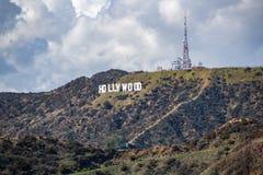 angeles hollywood los tecken royaltyfria bilder