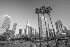angeles i stadens centrum los horisont Royaltyfri Fotografi