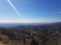 Ορίζοντας του Λος Άντζελες στοκ φωτογραφίες